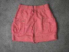 Rip Curl Women's Short Pink Zipper Skirt - Size 8