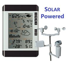Professional Wireless Weather Station w Rain Wind Senor