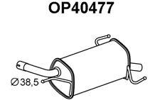 VENEPORTE Silencioso posterior OPEL CORSA VAUXHALL OP40477