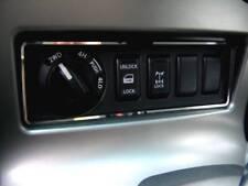 D Nissan Navara D40 Pathfinder Chrom Rahmen für Schalterleiste ( Automatik )