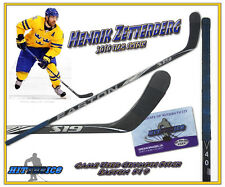HENRIK ZETTERBERG 2010 TEAM SWEDEN OLYMPICS Game Used Stick w/COA