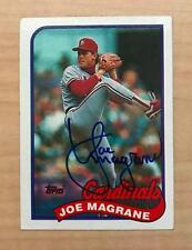 Joe Mangrane St. Louis Cardinals Signed Autographed 1989 Topps Card #657 W/Coa