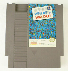 Where's Waldo? AUTHENTIC Nintendo NES Video Game Cart (Cleaned; Tested)