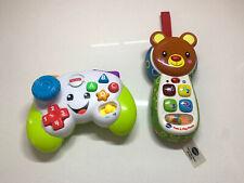 FisherPrice Game Controller & Vetch Peek & Play Phone.