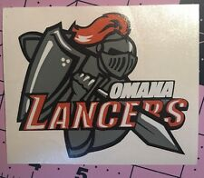 Omaha Lancers Decal For Your Yeti Rambler Tumbler