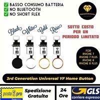 🔝Tasto iPhone 7 7Plus 8 8Plus Centrale Home Universale YF Ultima Generazione