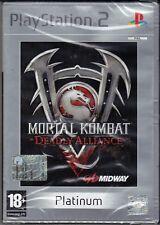Ps2 PlayStation 2 MORTAL KOMBAT ~ DEADLY ALLIAENCE nuovo sigillato italiano pal