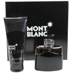 Legend by Mont Blanc for Men Set -EDT Cologne Spray 1.7oz + Shower Gel 3.4oz New