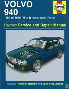 Haynes Handbuch: Volvo 940 1990-98  Reparaturanleitung/Reparatur-Buch/Wartung