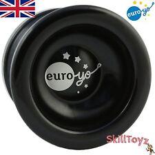 Euro-yo spirito yo-yo NERO ADVANCED reattività ALLUMINIO CUSCINETTO A SFERA Yoyo Nuovo