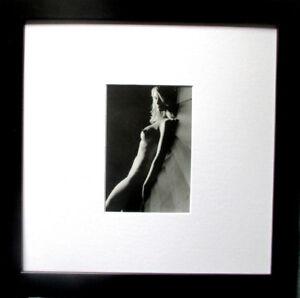 GORDON THYE > AKT in s/w< HAND SIGNIERT Foto-Multible mit Rahmen,datiert, signed