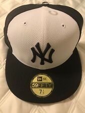 New York Yankees New Era 59Fifty Fitted Hat 7 1/4 Blue White