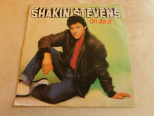 "Shakin' Stevens Oh Julie 7"" P/S Single Epic 1981 VG+ Condition.."