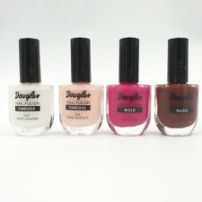4 x Douglas Nagellack White Sneakers, Pearl Necklace, Proud Pink 4x10 ml