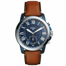 FOSSIL Q Grant Hybrid-Smartwatch FTW1147 Armbanduhr Leder iOS und Android