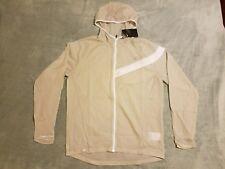 Nike Men's Impossibly Light Running Jacket sz Medium M Grey/White 833545 042 $90