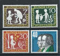 Allemagne - RFA N°195/98** (MNH) 1959 - Aux service de l'humanité