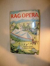 Rag Opera By Harlan Ware, James Prindle 1929 First Edition Signed Tent Show Life