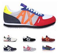Scarpe uomo Armani Exchange Sneakers XUX017 XV028 Vari Colori Primavera / Estate