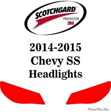 3M Scotchgard Paint Protection Film Clear Bra Pre-Cut Kits 2014 2015 Chevy SS