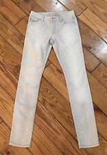 Banana Republic Gray Skinny Stretch Denim Jeans Pants Size 25