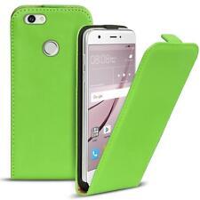 Flip Case Huawei Nova Hülle Pu Leder Klapphülle Handy Tasche Cover Grün