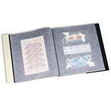 Stamps Mint Sheet Album 24 oversized Full Sheets U/T 340x370 mm Lighthouse BOGA4