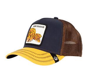 Goorin Bros -The Farm - Main Squeeze Navy/Yellow Men's Trucker Hat 101-0689-NVY