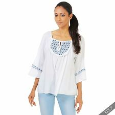 Hip Length Tunic, Kaftan Cotton Tops & Shirts for Women