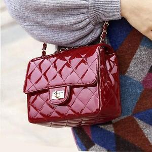 New fashion patent leather  party bridal wedding shoulder bag handbag M919