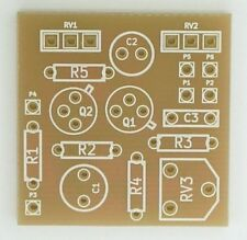 Fuzz Face PCB for DIY guitar effect pedal