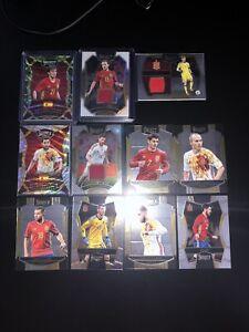 Panini Select Soccer 16-17 Spain Lot