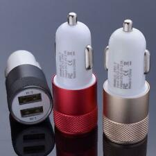 Wholesale Lots 100X Dual Usb 2 Port Car Charger Adapter 2.1A For Apple Samsung