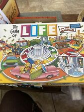 The Game of Life The Simpsons Edition Board Game Milton Bradley 2004 MB Pre Own