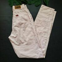 Vintage 80s Lee Striped High Rise Taper Leg Pant