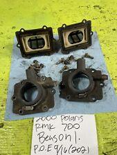2000 Polaris RMK 700 intake manifold and reeds carb holders