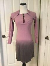 Kanabeach Biologik  Pretty Purple Ombre Hemp & Cotton Blend  Dress Size 36/6 EUC