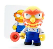 "Kidrobot The Simpsons Series 2 Groundskeeper Willie 3"" Vinyl Figure Art Toy Card"