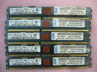 QTY 1x 16GB DDR3 2Rx4 PC3-12800R ECC RDIMM Genuine SK Hynix HMT82GV7MMR4C-PB