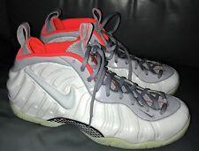 Nike Air Foamposite Pro PRM Pure Platinum Grey Shoes Size 16