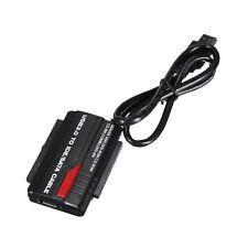 USB 3.0 to HD HDD SATA IDE Adapter Converter Cable Support 2TB HDD ATA/ATAPI BL