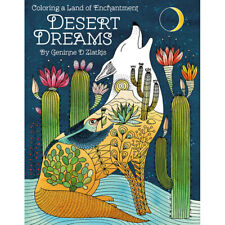 Desert Dreams, A coloring book by Geninne D Zlatkis