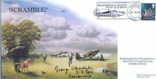 CC65A RAF Battle of Britain cover signed WWII WW2 ace WESTLAKE DFC