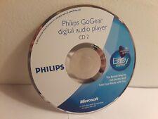 Philips GoGear Digital Audio Player Easy Start CD 2 (Windows, 2005, Microsoft) D