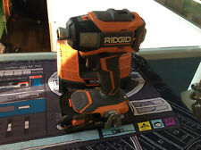 """Ridgid R86035 1/4"""" Impact Drill 18V W/ Battery & Charger Bundle Used Tested"""