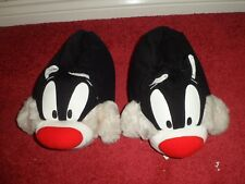Rare Cat slippers, S (5-7) (External size 21*28 CM), very soft. 1995 WARNER BROS