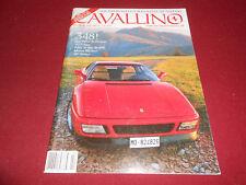 CAVALLINO MAGAZINE No. 55 Feb. Mar. 1990 FERRARI ENTHUSIAST MAGAZINE / BROCHURE