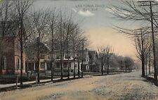 E85/ Leetonia Ohio Postcard Columbiana County 1912 East End Homes 7
