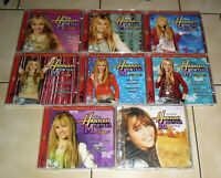 9 CD BOXEN - DISNEY : HANNA MONTANA 1 - 8 + MILEY CYRUS - HANNA MONTANA LE FILM