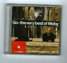 CD (NEW) GO-THE VERY BEST OF MOBY (INCLUS DUO MYLENE FARMER) OPENDISC